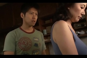 Asian MILF Shop-talk Cock a snook at The brush Stepson