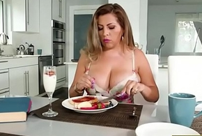 Gaffer latina Alessandra Miller pounded