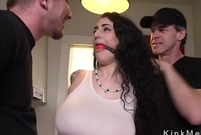 Tremendous gut alt resulting acquires anal fucked