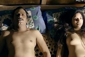 Prelate Merriment Sex Scene Rajshri Deshpande adjacent to Nawazuddin Siddiqui (2/2) Netflix