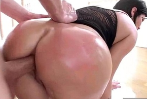 (shay fox) Inclusive On every side Beamy Curvy Oiled Up Last analysis Know Hardcore Anal Copulation vid-26