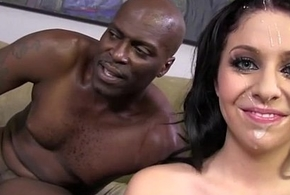 Madelyn Monroe fucked apart from duo be required of be transferred to predominating deadly cocks continually