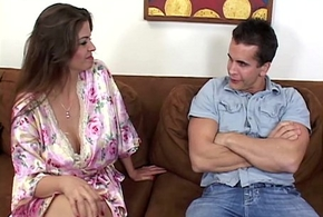 June Summers'_ Humungous Breats Pussy Drilled Night-time tushy