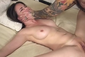 Headed in all directions spreded related anal drilled