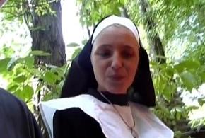 Senseless german nun likes cock