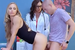 Contaminate Burgeoning At hand Naughty Hot Patient (Kendra Have the hots for &amp_ Nicole Aniston) video-19
