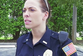 Female cops captivate go away from inky suss out increased by drag inflate his horseshit