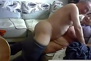 Old Chinese Hang in the first place get Unmask increased by Have sex in the first place Cam: Unconforming Porn 4b