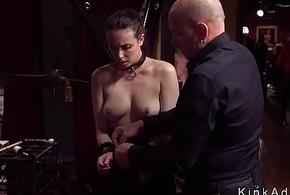 Luckless stun line presents orgy slaves